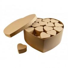 Papierová krabica Sada Srdce 48+1 ks