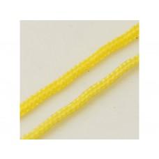 Nylonová šnúrka 1 mm Žltá