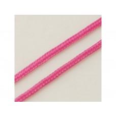 Nylonová šnúrka 1 mm Ružová