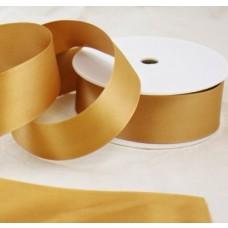 Saténová stuha 40 mm Zlatá