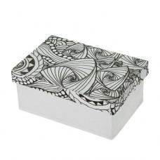 Papierová krabica s vymaľovankou Obdĺžnik malý