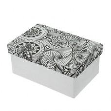 Papierová krabica s vymaľovankou Obdĺžnik veľký