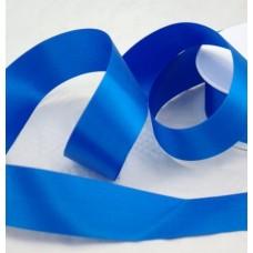 Saténová stuha 40 mm Modrá