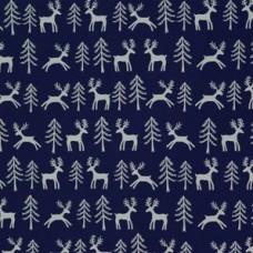 Baliaci vianočný papier Obojstranný Soby/hviezdy