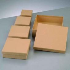 Papierová krabica Štvorec nízka 5 veľkostí