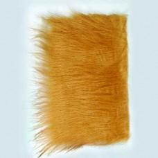 Plyšové dekoračné vlasy - dlhé Hnedá svetlá