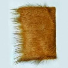 Plyšové dekoračné vlasy - dlhé Hnedá