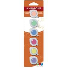 Akrylová farba Sada 6 farieb pastel