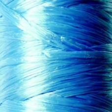 Rafia z viskózy bledá modrá