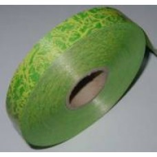 Plastová stuha š.25 Zelená mramor
