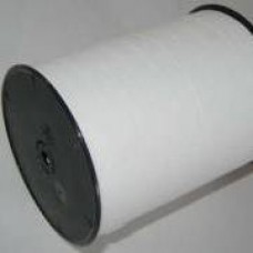 Plastová stuha š.10 matná Biela