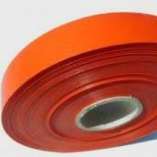 Plastová stuha š.19 matná Oranžová
