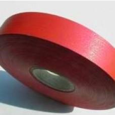 Plastová stuha š.19 matná Červená