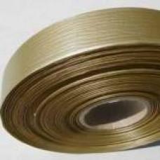Plastová stuha š.19 matná Zlatá
