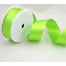 Saténová stuha 40 mm Zelená jasná