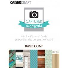 Kaisercraft Journal Cards / Kartičky Basecoat