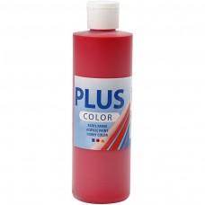 Akrylová farba Plus Color Crimson red / Červená 250 ml