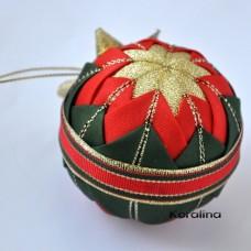 Vianočná guľa - Vianočná ruža