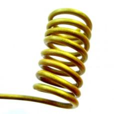 Drôt matný zlatý