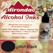 Alkoholový atrament Adirondack Pitch black