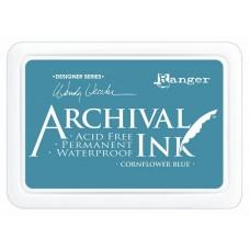 Atramentová poduška Archival Cornflower blue
