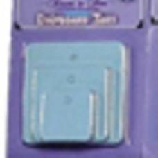 Etikety Štvorec Modrá