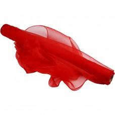 Organza 50 cm Červená