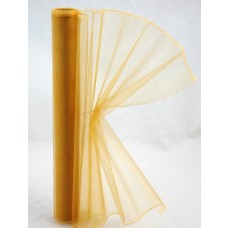 Organza 37 cm Škoricová