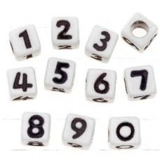 Korálky Čísla