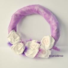 Venček Slávnostný fialový