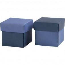Krabička na darčeky 5,5x5,5 cm Modrá
