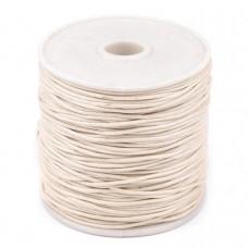 Bavlnená voskovaná šnúrka Tapioca