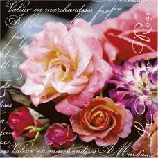 Servítka Život v ruži