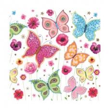 Servítka Motýle jarné