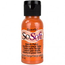 Farba na látku SoSoft Cadmium Orange / Oranžová