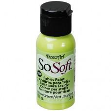 Farba na látku SoSoft Yellow green / Svetlá zelená