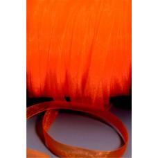 Šnúrka z organzy Oranžová