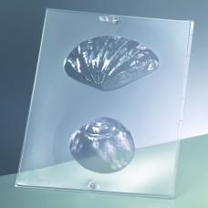 Odlievacia forma na mydlá 3D Mušla a slimák