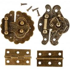 Kovové pánty na šperkovnice
