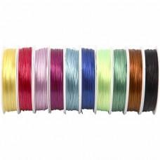 Elastický nylon plochý v 10 farbách