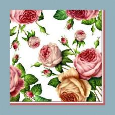 Servítka Ruže vintage