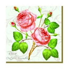 Servítka Ruže 25x25 cm