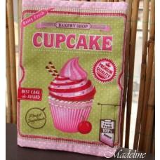 Obal na knihu Cupcake velky
