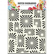 Šablóna Dutch Doobadoo Štvorce