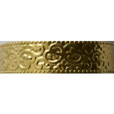 Embosovaný plech oriental Zlatá svetlá