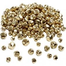 Zvončeky, rolničky 8 mm Zlaté