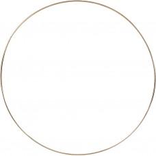 Drôtený kruh na Lapač snov Zlatá