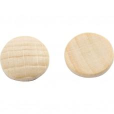 Drevený kabošon 15 mm