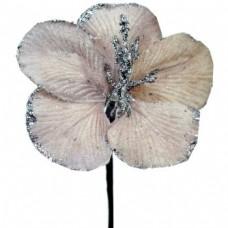 Umelý kvet Hybiscus Staroružová