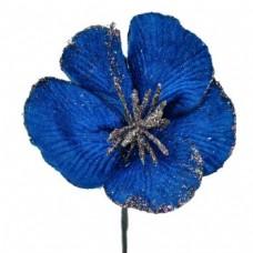 Umelý kvet Hybiscus Modrá